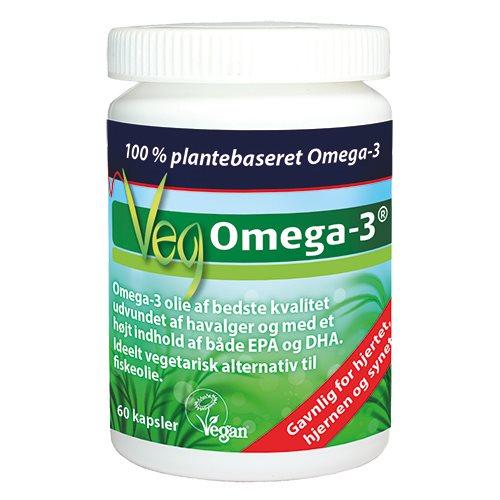Image of   Biosym VegOmega-3 (60 kap)