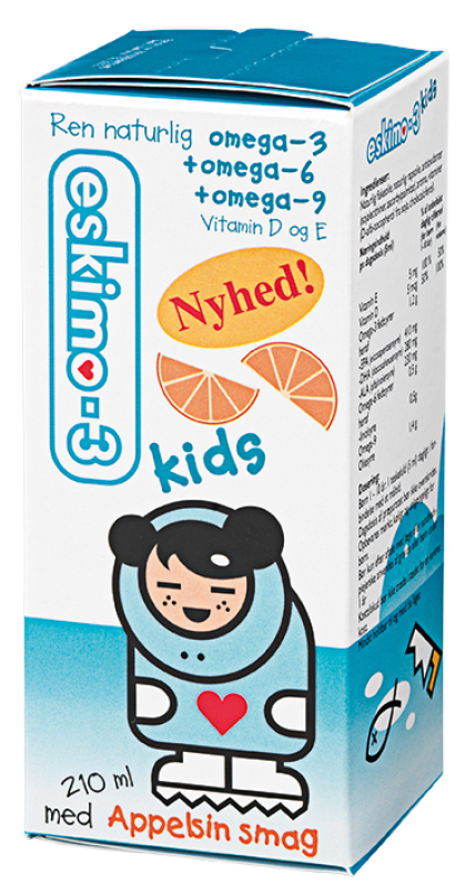 Eskimo-3 Kids - Appelsin (210 ml)