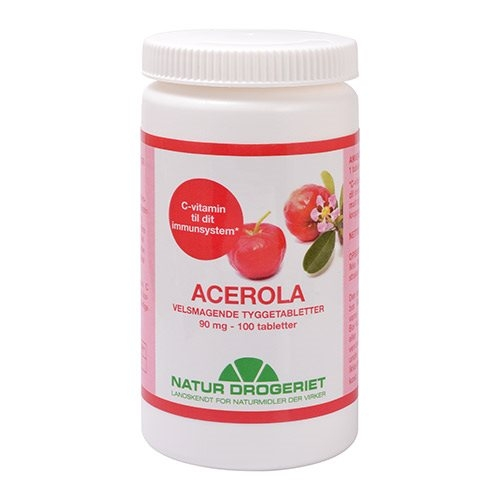 Image of   Acerolanatural90mg (100tab)