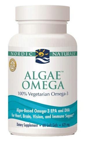 Algae Omega-3 - vegetarisk omega-3 (60 kap)