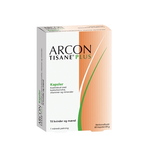 Image of Arcon Tisane Plus (60 kap)