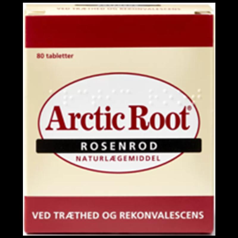 Billede af Arctic Root rosenrod145mg (80tab)