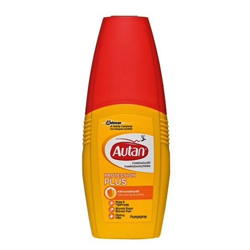 Autan Active afskrækning i pumpe spray (100 ml)
