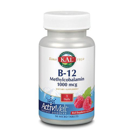 Image of   B12 Methylcobalamin (90 tab)