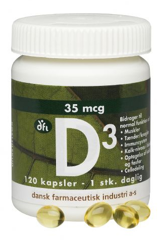 Image of   difi D-vitamin (120 kap)