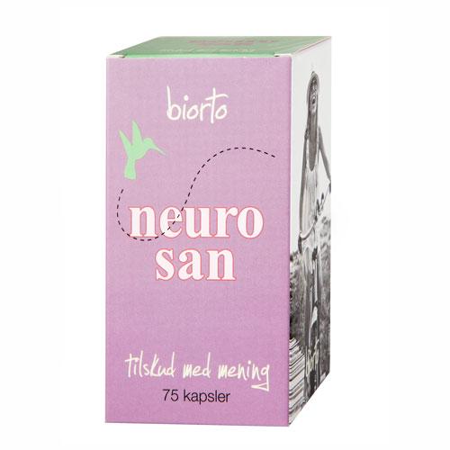 Image of   Biorto Neurosan (60 kapsler)