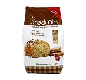 Image of   Funktionel Mad Lowcarb-brød (1kg)