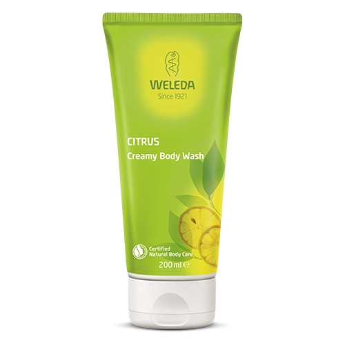Image of   CreamyBodyWashCitrusWeleda (200ml)