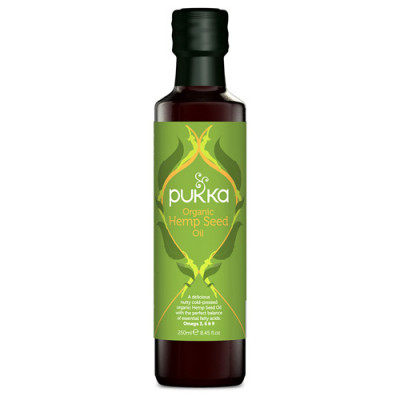 Pukka Organic Hemp Seed Oil (250 ml)