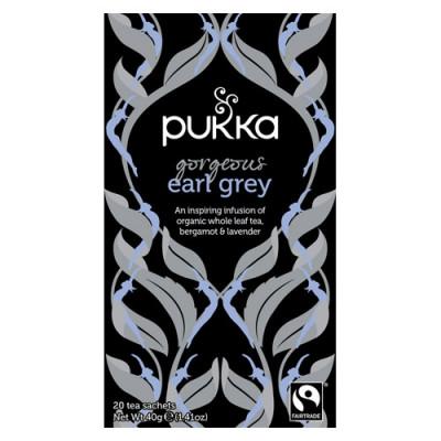 Pukka Gorgeous Earl Grey Te Ø (20 breve)
