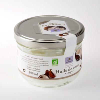 Kokosolie koldpresset jomfruolie Ø (400 ml)