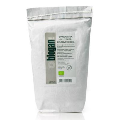 Biogan Boghvedemel Økologisk (1kg)