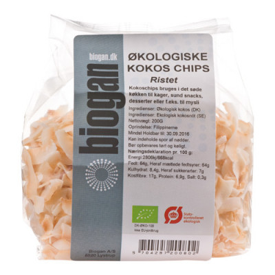 Kokoschips Ristet Ø (250 gr)