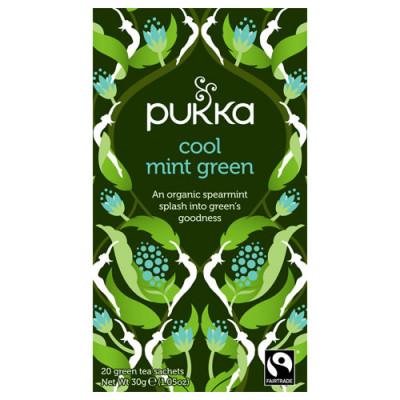 Pukka Cool Mint Green Te Ø (20 breve)
