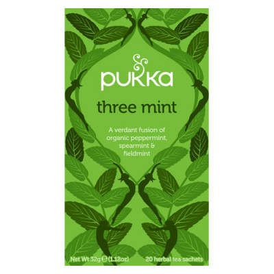 Pukka Three Mint Te Ø (20 breve)