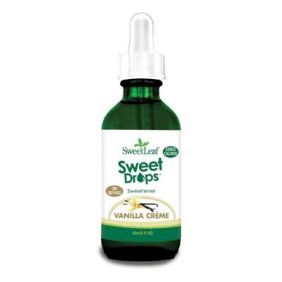 Steviadråber Vanilla Creme Sweet Drops (60 ml)