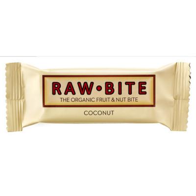 Rawbite Coconut Glutenfri Rawfood Bar Ø (50 gr)