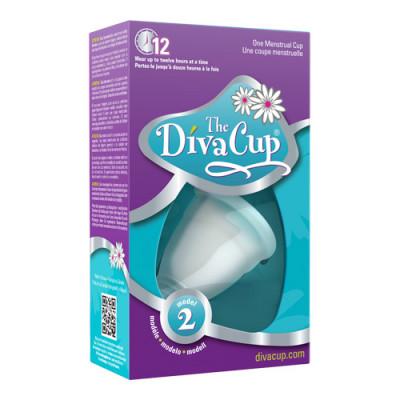 The DivaCup Menstruationskop Model 2 (1 stk)