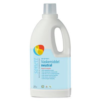 Vaskemiddel fl. neutral Sonett (2 l)