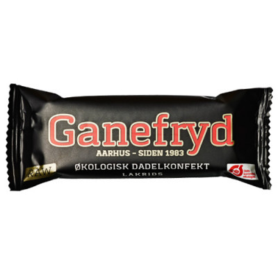Rawbar Dadelkonfekt Lakrids Ø Ganefryd (50 g)