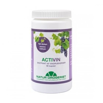 Natur Drogeriet ActiVin®1 Vindruekerneekstrakt (90 kap)