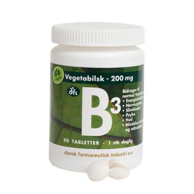 B3 Depottablet 200 mg (90 tabletter)