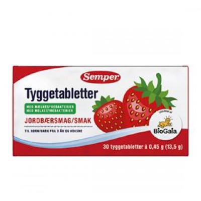 Semper BioGaia Tyggetabletter (30 stk)