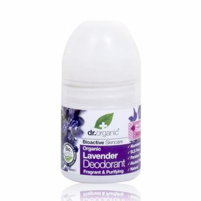 Dr. Organic Lavender Deodorant Roll-on (50 ml)