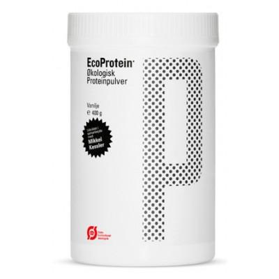 Proteinpulver m.vanillje EcoProtein Ø 400 gr.