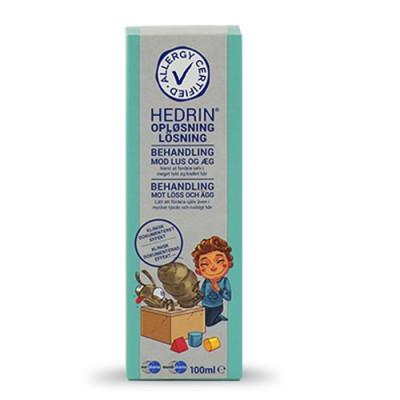 Hedrin opl. til lus (100 ml)