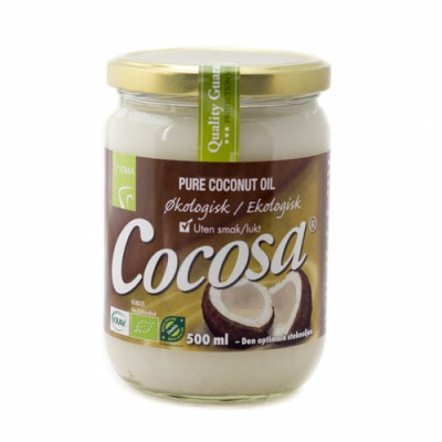 Cocosa ren kokosolie som stegeolie Ø (500 ml)