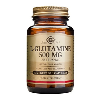 L-Glutamin 500mg vegicaps (50 kap)