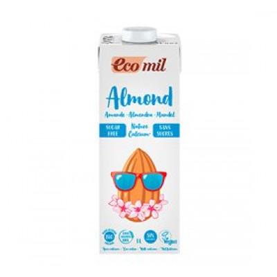 Mandeldrik m. calcium Ecomil Ø u. sukker (1 l)