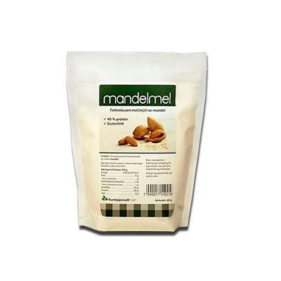 Mandelmel l fedtreduceret (400 g)