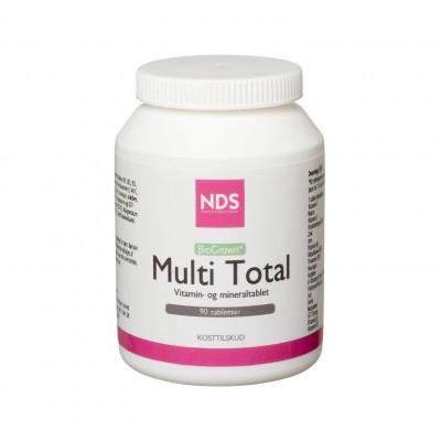 NDS Multi Total - multivit og mineral (90 tab)