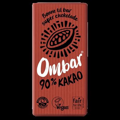90% chokolade Ø Ombar