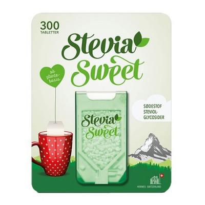 Hermesetas SteviaSweet sødetabletter (300 tab)