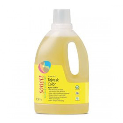 Tøjvask color mynte&citron Sonett (1.5 ml)