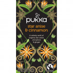Star Anise & Cinnamon te Ø Pukka (20 br)