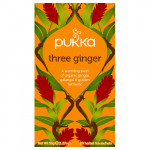 Three Ginger te Ø Pukka (20br)