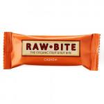 Rawbite Cashew - Laktose- og glutenfri frugt- og nøddebar Ø (50 gr)