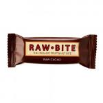 Rawbite Raw Cacao - Laktose- og glutenfri frugt- og nøddebar Ø (50 gr)