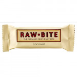 Rawbite Coconut - Laktose- og glutenfri frugt- og nøddebar Ø (50 gr)