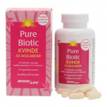 Pure Biotic Kvinde 50 milliarder mælkesyrebakterier Renew Life