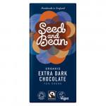 Seed and Bean Mørk Chokolade (85g)