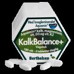 KalkBalance+ m. kalk,mag,D3,K2 Berthelsen (180 tab)