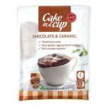 Funktionel Mad Cake in a Cup - Chokoladekage m. Karamelsmag (65g)