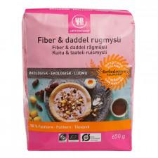 Urtekram Fiber & Daddel Rugmysli Ø (650 gr)