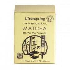 Matcha grøn te pulver Ø (ceremonial grade) (30 g)