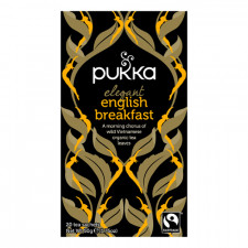 Elegant English Breakfast te Ø Pukka (20 br)